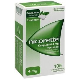 Nicorette Freshmint 4 mg Kaugummi 105 St.