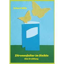Zitronenfalter im Dixiklo