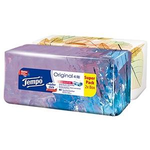 Tempo Taschentücher Duo-Box, 2 x 80 Tücher (160 Tücher)