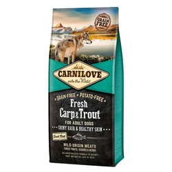 12kg Carnilove Fresh Carp & Trout Adult Dog Hundefutter