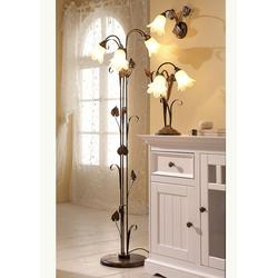 Stehlampe Florentiner braun