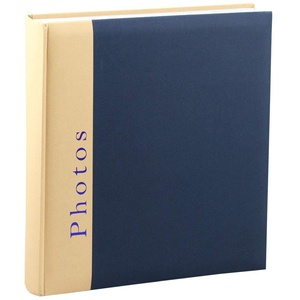 Chapter Fotoalbum in 30x30 cm 100 Seiten Foto Album Buchalbum Jumbo: Farbe: Blau