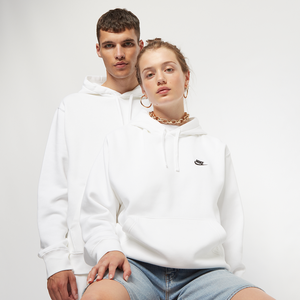 Sportswear Club Fleece Pullover Hoodie Weiß,Beige Unisex XL