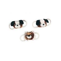 Plüsch-Spielzeug mit Baumwollseil für kleine Hunde