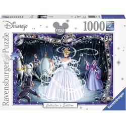 Ravensburger Puzzle Disney Cinderella, 1000 Puzzleteile, Made in Germany, FSC® - schützt Wald - weltweit