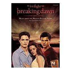 Twilight - Breaking Dawn  Piano Solo. Carter Burwell  - Buch