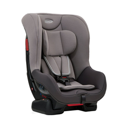 Graco Autokindersitz Auto-Kindersitz Extend, Black&Grey grau