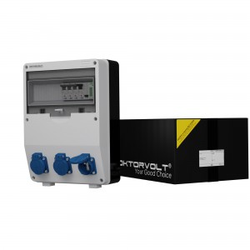 Stromverteiler TD-S/FI 3x230V franz System Stromzähler MID Doktorvolt 9894