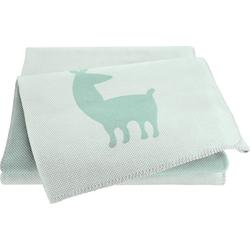 Babydecke Alpaca, BIEDERLACK grün