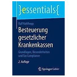 Besteuerung gesetzlicher Krankenkassen. Ralf Kohlhepp  - Buch