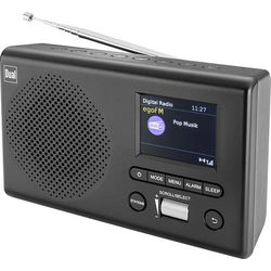 Dual MCR 4 Tischradio UKW, DAB+ UKW, DAB+, AUX