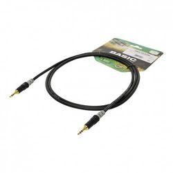Hicon HBA-3S-0060 Klinke Audio Anschlusskabel [1x Klinkenstecker 3.5mm - 1x Klinkenstecker 3.5 mm] 0