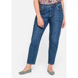 Sheego Girlfriend Jeans Sheego blue Denim