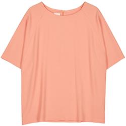 Makia - Nominal T-Shirt Peach - T-Shirts - Größe: S