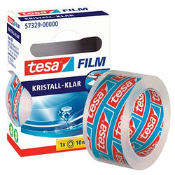 tesa Klebefilm kristall-klar 19,0 mm x 10,0 m 1 Rolle