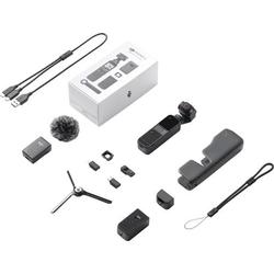 DJI Pocket 2 Creator Combo Action Cam 4K, Ultra HD, Bildstabilisierung, integriertes 3 Achsen-Gimbal