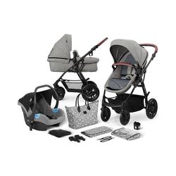 Kinderkraft Kombi-Kinderwagen Kinderwagen Xmoov, multifunktional, 3in1, denim grau