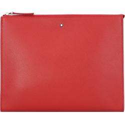 Montblanc Montblanc Sartorial Herrenhandtasche Leder 27 cm red