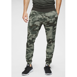 Nike Trainingshose Pro Camo Training Pants grün Herren Trainingshosen Sporthosen Hosen