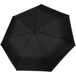 Tamaris Taschenregenschirm Tambrella, black, mit Metallic-Elementen am Schirmdach