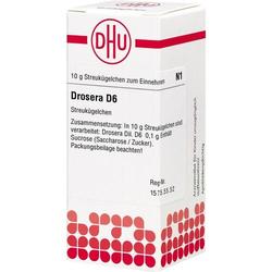 DROSERA D 6 Globuli 10 g