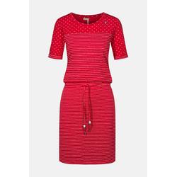 Ragwear Nuggie Dress Damen Kleid Rot