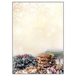 SIGEL Weihnachtsbriefpapier Winter Smell Motiv DIN A4 90 g/qm 25 Blatt