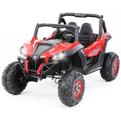 Actionbikes Motors Spielzeug-Auto Kinder Elektroauto UTV Buggy MX, für 2 Kinder - inkl. Fernbedienung rot
