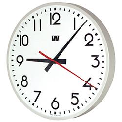 Wanduhr, rund mit Zahlen, 30 cm, Quarzuhr