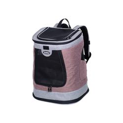 Nobby Tiertransporttasche Rucksack PLATA rosa
