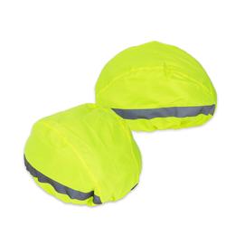 BigDean Fahrradhelmüberzug 2x Regenschutz für Fahrradhelm Überzug Universal F