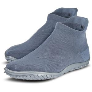 Leguano Barfußschuh SNEAKER Sneaker für Maschinenwäsche geeignet grau M (40/41)