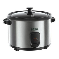RUSSELL HOBBS Reiskocher Cook@Home elektrischer edelstahl