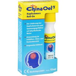 China-Oel Kopfschmerz Roll-On