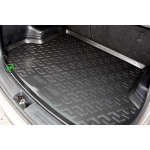 J&J AUTOMOTIVE Premium Antirutsch Gummi-Kofferraumwanne für ix35 ix 35 2010-2015
