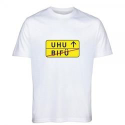 "T- Shirt Standard zum 50.Geburtstag ""UHU"""