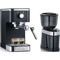 Graef Salita Set + Kaffeemühle CM 202 schwarz