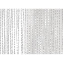 Wentex Pipes & Drapes Vorhang Fadenvorhang, 3x4m, 220g/m², weiß