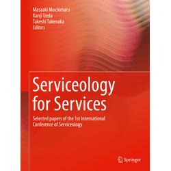 Serviceology for Services: Buch von