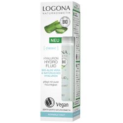 LOGONA Hyaluron Hydro Fluid Bio-Aloe Vera & Hyaluronsäure 30 ml