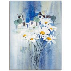 Artland Wandbild Gartenkräuter I, Blumen (1 Stück) 45 cm x 60 cm