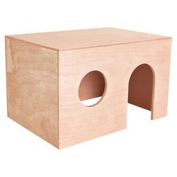 TRIXIE Holzhaus für Kleinnager 27x17x19 cm