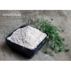 Naturix24 – Flohsamenschalenpulver, Flohsamenschalen indisch gemahlen – 100g Beutel