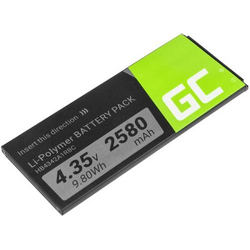 Green Cell Handy-Akku Huawei Ascend Y5 II, Huawei Ascend Y6 2580 mAh