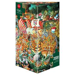 HEYE Puzzle Trafalgar, Ryba, 2000 Puzzleteile