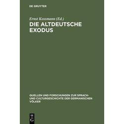 Die altdeutsche Exodus als Buch von