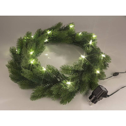 LED Tannenkranz ca. 50 cm für Türen und Fenster