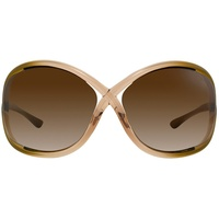 Tom Ford Whitney FT0009 74F rosa / brown gradient