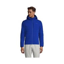 Ultraleichte Kapuzen-Daunenjacke - XL - Blau