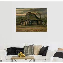 Posterlounge Wandbild, Bauernhaus 90 cm x 70 cm